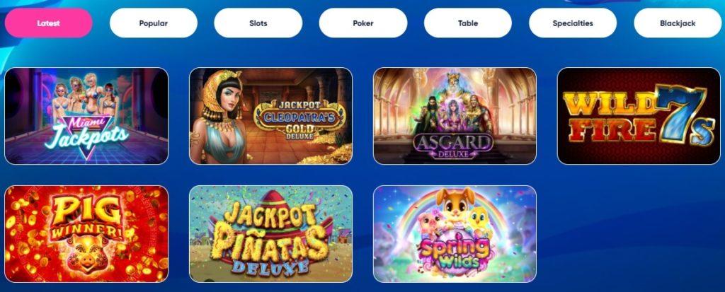 las Atlantis casino online games and slots