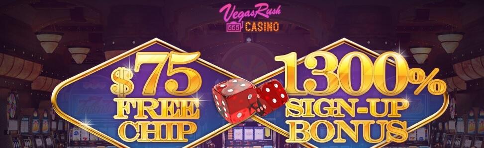 vegas rush casino no deposit bonus codes 2021
