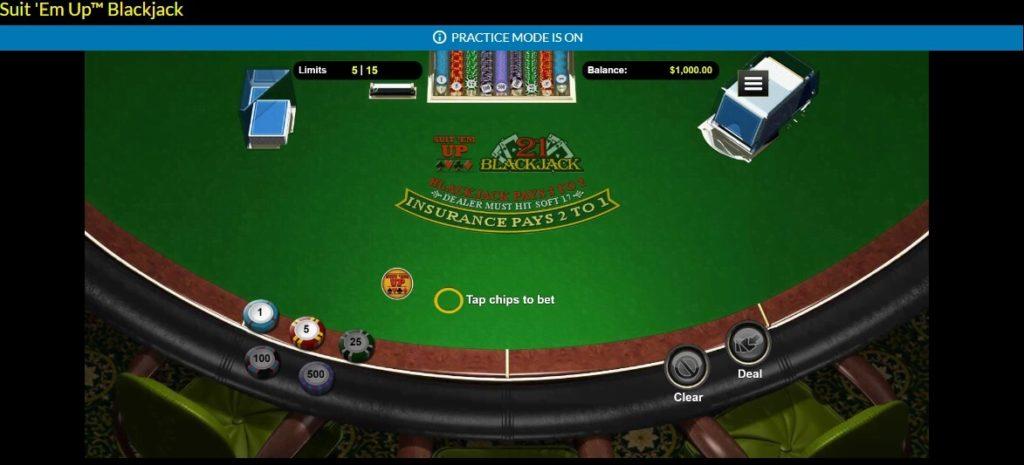 planet 7 casino practice mode blackjack